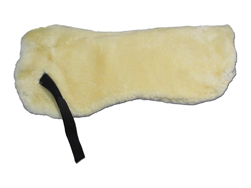 Lammfellpad mit Polsteröffnungen